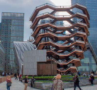 Hudson Yards is officially now NYC's most expensive neighborhood. I climbed Vessel, its $200 million, 2,500-step sculpture, and the view from inside blew me away