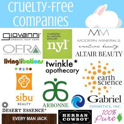 Cruelty-free at a glance! What is your favorite cruelty-free