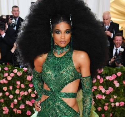 Ciara Literally Had The Biggest Hair Moment At The Met Gala