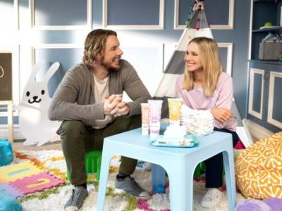 Kristen Bell And Dax Shepard's New Line Of Baby Products Is Everything