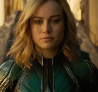 Captain Marvel is an Air Force recruiter's dream come true