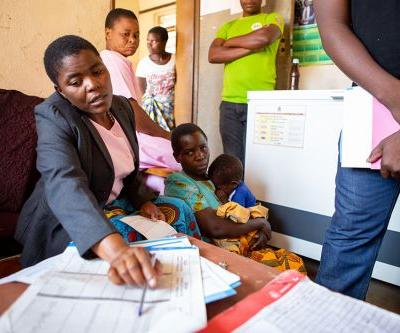 Toddlers Growing, Gaining with Help from Malawi Clinic