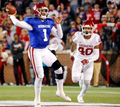 Getting to face Alabama is focus for Jalen Hurts after being named Oklahoma starter