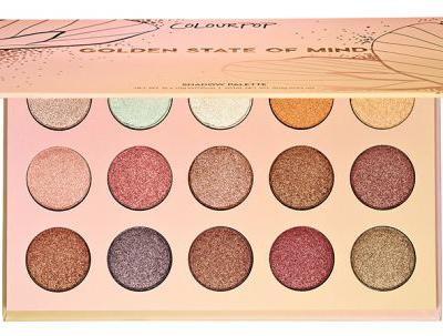 ColourPop Golden State of Mind Shadow Palette at Sephora on 10/31