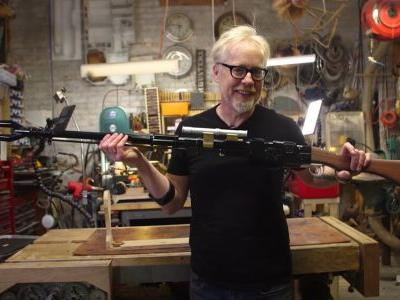 Adam Savage Builds The Amban Phase Pulse Blaster From THE MANDALORIAN