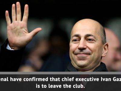 Gazidis leaves Arsenal for AC Milan