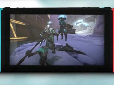 Co-op shooter 'Warframe' is coming to Nintendo Switch