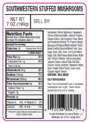 2,552 cases of cooking & snacking products recalled for Listeria
