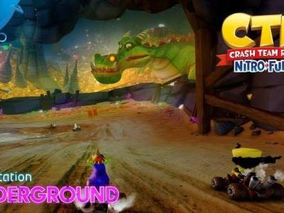 Crash Team Racing Nitro-Fueled Gets Dragon Mines and Retro Stadium Gameplay