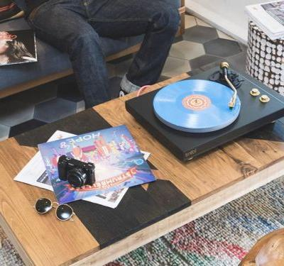 This $499 turntable creates Spotify playlists as you listen - and it connects to any Bluetooth speaker