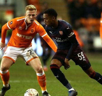 Linesman crushed my dreams! - Arsenal youngster Willock on hat-trick woe