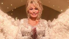 Dolly Parton Gets Angel Wings In 'Christmas On The Square' Trailer