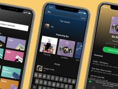 Spotify Premium Updated With New Design Features