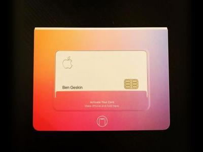 Photos: Here's what the Apple Card will look like out of the box