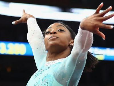 Simone Biles returned from a 2-year break and dominated the national championships in a way that hadn't been seen in 24 years