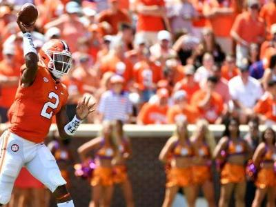 It's reportedly 'a two-horse race' for Clemson transfer QB Kelly Bryant