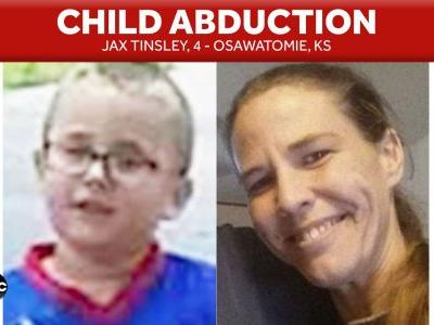 Police searching for missing Osawatomie 4-year-old, kidnapping warrant issued for mother