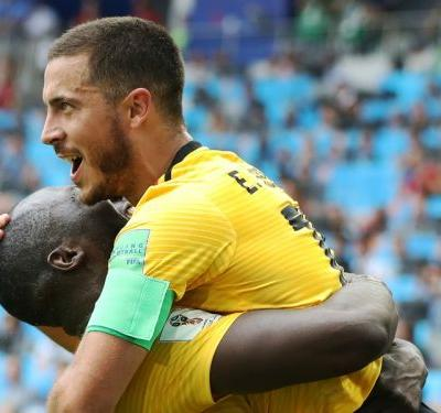 'Lukaku deserves everything' - Hazard praises Belgium's goal hero after Tunisia win