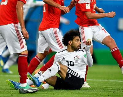 The Latest: Russia on pace for lowest-scoring World Cup