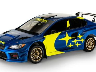 Subaru Brings Back Old-School Blue and Yellow in New Livery