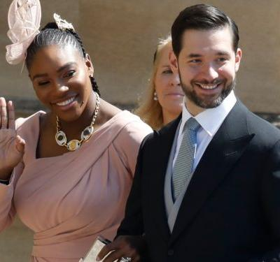Serena Williams wore sneakers to Prince Harry and Meghan Markle's royal wedding reception - and honestly we'd do the same
