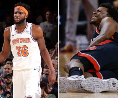Mitchell Robinson fires back over Kyle Lowry's 'dirty' accusation