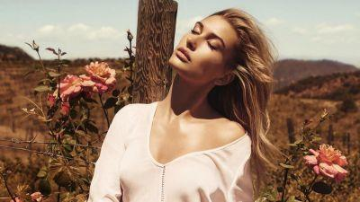 Must Read: Hailey Baldwin's Anniversary Guess Campaign Is Here, Hillary Supporter Ralph Lauren May Dress Melania Trump For Inauguration
