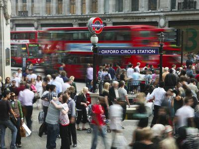 The world's biggest sovereign wealth fund bought £400 million of property on London's Oxford Street last year