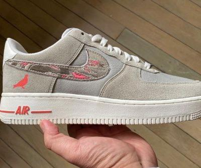 """Jeffstaple and SBTG Team up for Nike Air Force 1 """"Pigeon Fury"""""""