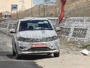 Tata Tiago Facelift Altroz Spied Yet Again
