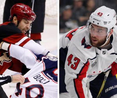 Hockey community outraged after Tom Wilson was not suspended for his role in brawl against Rangers