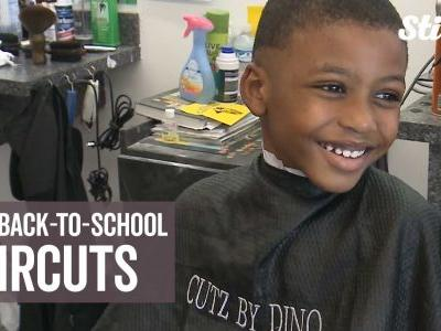 Free back-to-school haircuts put parents, kids at ease as school year approaches