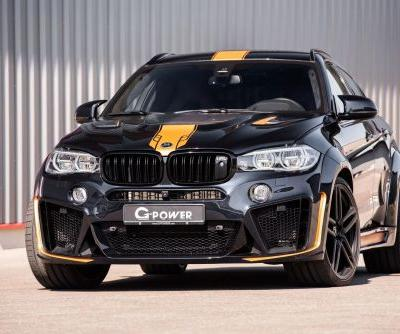 G-Power Typhoon Conversion Pumps The X6 M Up To A 740 HP Rebel