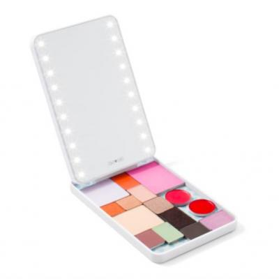 This Genius Light-Up Makeup Palette Is Like a Vanity On the Go
