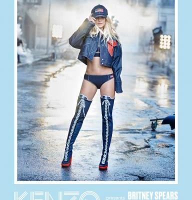 Gimme More: Britney Spears Stars in Kenzo's Epic New Campaign