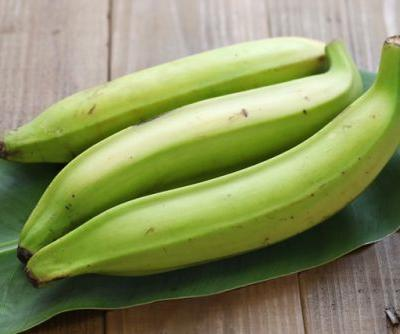 Another white flour alternative: Plantain peel flour has high levels of dietary fiber