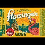 """How about Pineapple Gose-beak?"" - Uinta Brewing Company: Flamingose"
