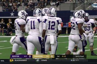 HIGHLIGHTS: Newton takes early lead over Canadian with touchdown run | UIL Texas State Football Championships