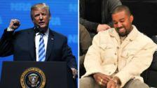 Trump Thanks Kanye At NRA Convention For Doubling His African-American Polling Numbers