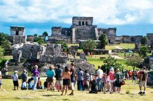 In the first quarter of this year, Mexico sees a total of 20.6 million international tourists