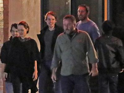 Angelina Jolie Is All Smiles With Sons Pax and Maddox After Enjoying Sushi Dinner
