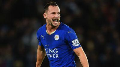 WATCH: Drinkwater scores amazing volley for Leicester vs. Liverpool