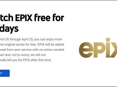 YouTube TV Is Giving Everyone EPIX Free For 30 Days