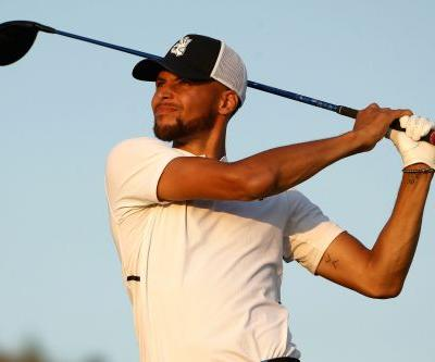 Stephen Curry shoots an 86 to finish last in Web event