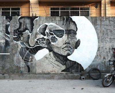 """""""Bawal Umihi Dito"""" by Sepe in Quezon City, Philippines"""