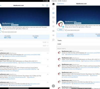Tweetbot for iOS Gains Support for New 11 and 12.9-Inch iPad Pro Models