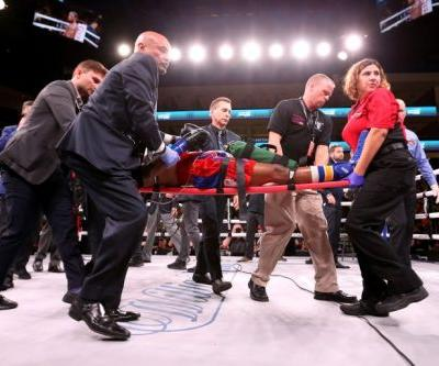 Boxer Patrick Day in coma after suffering brain injury during Chicago fight, manager says