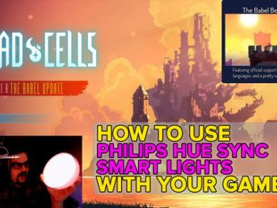 Syncing games with Philips Hue smart lights gives your home that ol' arcade glow
