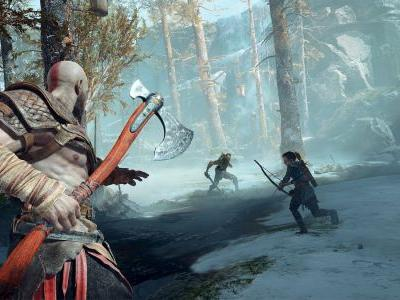 God of War, PS4 headline April NPD