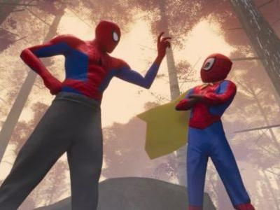 'Spider-Man: Into the Spider-Verse' Sneak Peek: Spider-Man Doesn't Wear a Cape